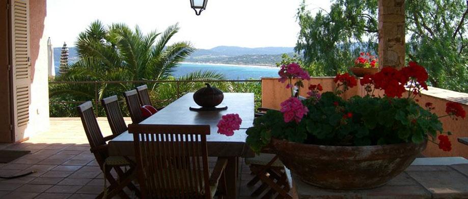 Cap tahiti villa en location saint tropez 250 m2 5 for Chambre 13 tahiti plage